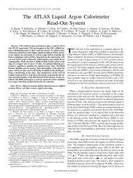 The ATLAS Liquid Argon Calorimeter Read-Out System - IEEE Xplore
