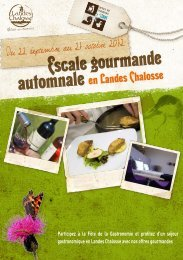 4 Offres gourmandes - Landes Chalosse