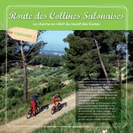 Route des Collines Salonaises - Office de tourisme Salon de Provence