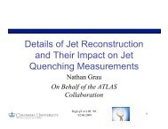 Details of Jet Reconstruction and Their Impact on Jet Quenching ...