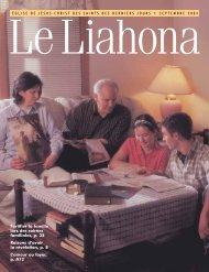 Septembre 2004 Liahona - Idumea