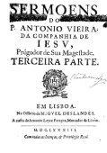 Sermões Vol. III, Editio Princeps - LusoSofia - Page 7