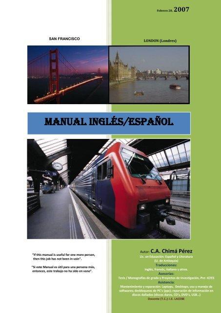 Manual Inglés Español Sisman