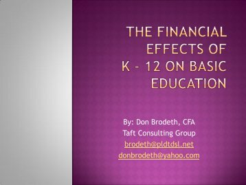 Mr. Don Brodeth