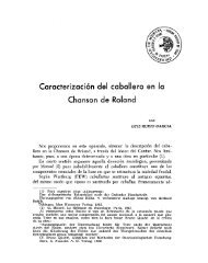 Caracterización del caballero en la Chanson de Roland - Digitum