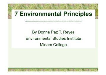 JEEPGY Academy Day 1 - Environmental Principles 1 - 4 - Dr ...