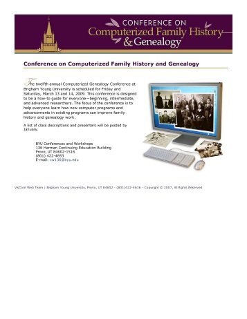Conference on Computerized ... - Continuing Education - Brigham ...