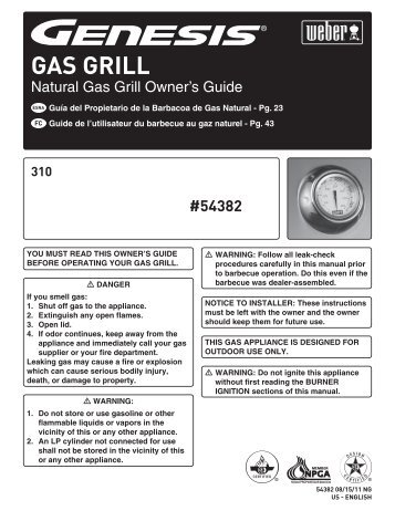 GAS GRILL - Appliance Factory Parts
