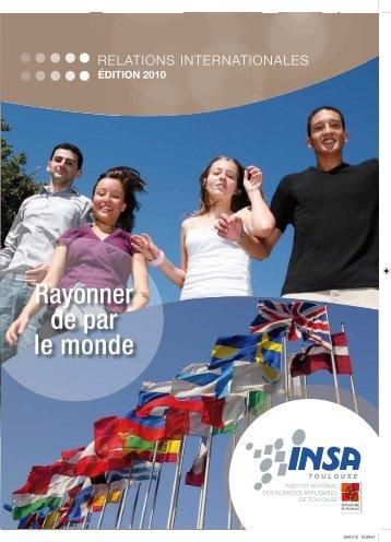 Rayonner de par le monde - Insa - Toulouse