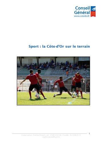 04_11 politique sportive - Conseil Général de la Côte-d'Or