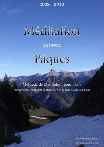 Méditation de l'Avant PÂques - Clefs du Futur