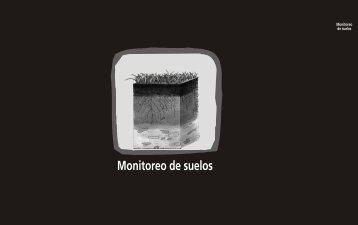 Monitoreo de suelos - cegae