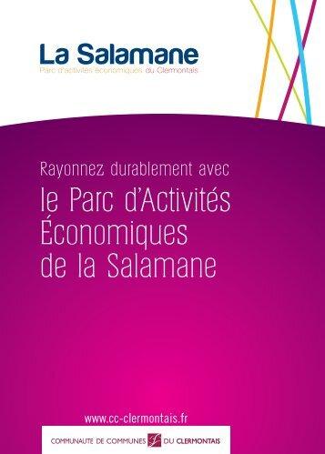 le Parc d'Activités Économiques de la Salamane - La Communauté ...