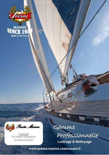Téléchargez notre catalogue - Presta Marine - Cosmocare