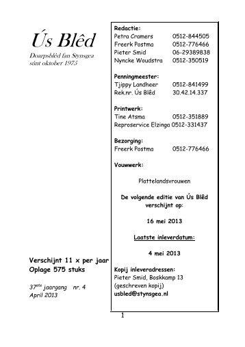 ús bled april 2013 - Stynsgea