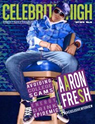 May 2010 - Celebrity High Magazine