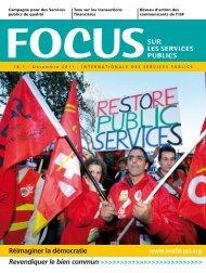 sur les services publics Réimaginer la démocratie - PSI