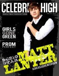 April 2010 - Celebrity High Magazine