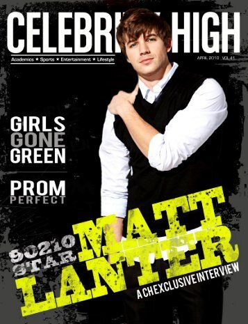 April 2010 - Celebrity High Magazine