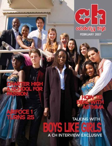 February 2007 - Celebrity High Magazine