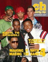 September 2007 - Celebrity High Magazine