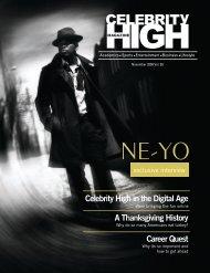 November 2008 - Celebrity High Magazine