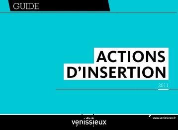 actions D'insertion - Ville de Vénissieux