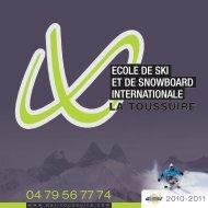 L'école de ski Internationale de la Toussuire fait ... - Esi-toussuire.com