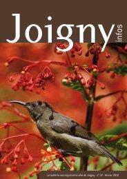 Le bulletin municipal de la ville de Joigny - n° 37 - février 2012