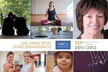Rapport annuel d'activités 2011-2012 - YWCA Québec