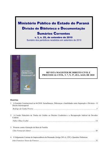 Ministério Público do Estado do Paraná - Governo do Paraná