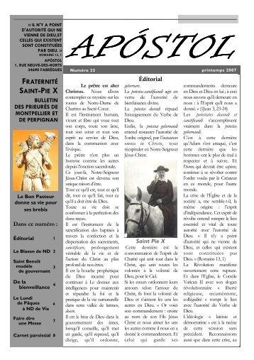 Apostol n° 33 - La Porte Latine
