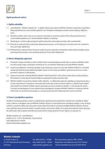 AGB Wiehler Gobelin HR kroatisch.indd