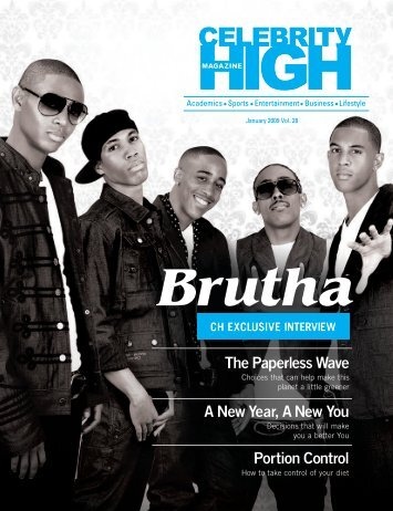 January 2009 - Celebrity High Magazine