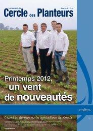 Le journal du Cercle des Planteurs - Syngenta