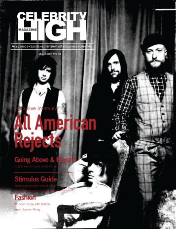 March 2009 - Celebrity High Magazine