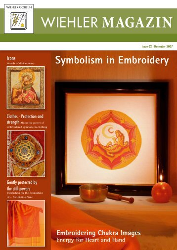 Embroidering Chakra Images - Energy for Heart ... - Wiehler Gobelin