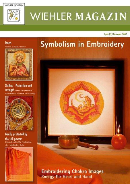 Embroidering Chakra Images - Energy for Heart ... - Wiehler Gobelin
