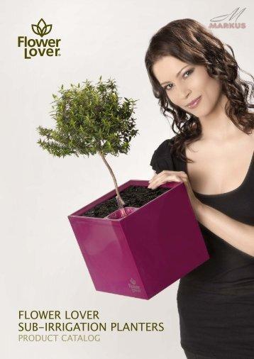 FLOWER LOVER SUB-IRRIGATION PLANTERS