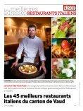 Vaud: 45 restaurants italiens - presstourism.ch - Page 2