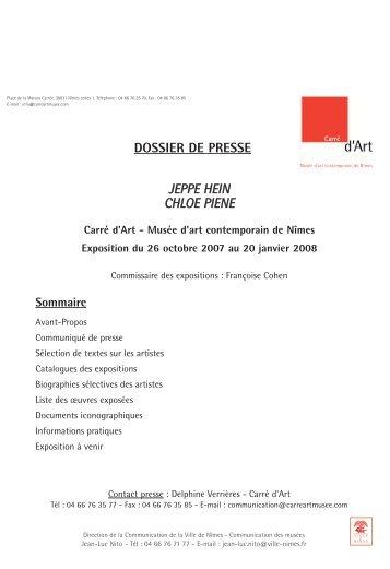 PIENE-HEIN-Dossier_de_presse.pdf - Nîmes