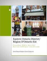 Eastern Ontario District/ Région D'Ontario-Est - Don Mark Miller