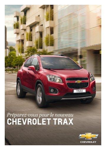 CHEVROLET TRAX - Garage Steuri