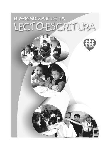 1 EL APRENDIZAJE DE LA LECTO-ESCRITURA - Centro de recursos