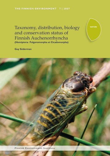 Taxonomy, distribution, biology and conservation status of ... - Helda