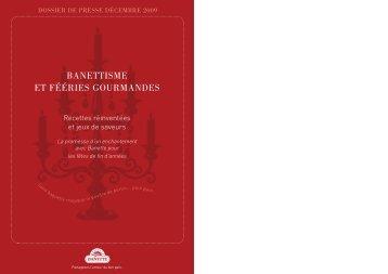 """PDF""""Banettisme et fééries gourmandes"""" - Banette"""