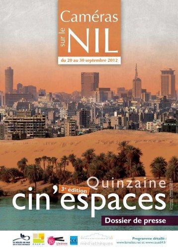 Dossier de presse - CAUE64