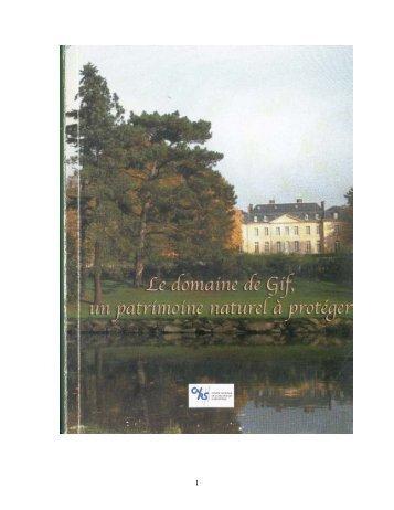 Parc total - Historique de l'ICSN - CNRS
