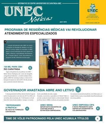 Jornal UNEC Noticias - 1º Semeste 2010/1