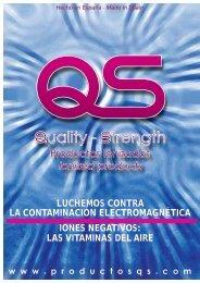 Catálogo de productos QS - Quality-Strength